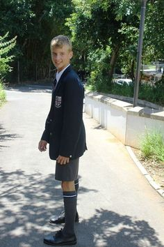 Dedicated to the belief that if schoolboys wore shorts until at least their early teens, and were subject to traditional methods of discipline, the world would be a more civilised place. School Boy, School Uniform, Grey School Shorts, Boys Short Suit, Boys Uniforms, Boys Wear, Swimming Costume, Girly Outfits, Children Photography