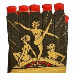 Vintage 1930's Nude Matches