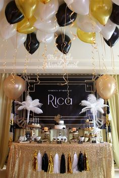 If you're in love with the roaring 1920s era, this party  is sure to have all of the ritz and glam that your heart desires!