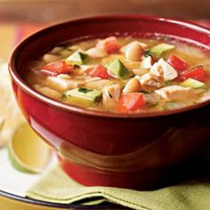 Southwestern Chicken Soup Recipe