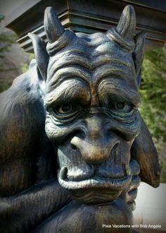 #Gargoyle near Beast's Castle at Walt Disney World Fantasyland. Contact us to start planning your magical vacation!   https://m.facebook.com/?refsrc=http%3A%2F%2Fwww.facebook.com%2F&_rdr#!/PixieAngeloVacations?__user=1415807753