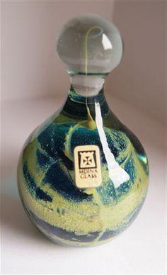 Mdina Glass Paperweight Mdina Glass  Malta  by VintageGlassHouses, £26.99