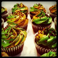 camo frosting