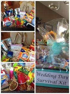 Bridal Shower Gift idea: Wedding Day Survival Kit