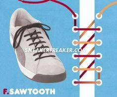 GUIDE TO LACING | Sneaker Freaker