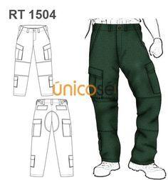 PANTALON CARGO MILITAR HOMBRE Family Outfits, Cool Outfits, Family Clothes, Sewing Men, Flat Illustration, Fashion Flats, Clothing Patterns, Scrubs, Parachute Pants