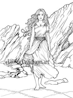 Elegant Picture of Fantasy Coloring Pages . Fantasy Coloring Pages Adult Coloring Page Fantasy Coloring Celtic Coloring Page Etsy Detailed Coloring Pages, Free Adult Coloring Pages, Coloring Pages For Girls, Coloring Book Pages, Superhero Coloring, Dragon Coloring Page, Celtic Goddess, Fantasy Princess, Princess Coloring Pages