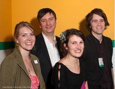 Anna Lewis, Jon Reed, Jon Slack and Emily Benet at the Publishing Talk London Book Fair Tweetup 2010. Anna, Author, Events, London, Books, Libros, Book, Writers, Book Illustrations