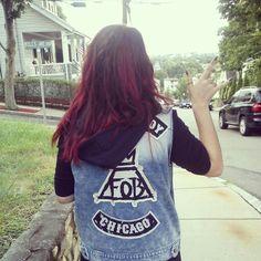 Fall out boy vest #punkrockfordays