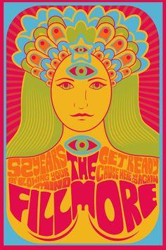lisa kaats - Poster Design Fillmore Auditorium, Red Leopard, Hand Lettering, Illustration, Lisa, Poster, Design, Art, Craft Art