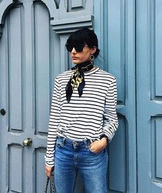Parisian style French Fashion, Look Fashion, Fashion Outfits, Fashion Design, Fall Fashion Trends, Autumn Fashion, Preppy Style, My Style, Looks Jeans