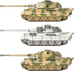 Paper model 1/87(HO) Tiger II Porsche turret