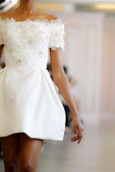 short gown #flower #dress #fashion