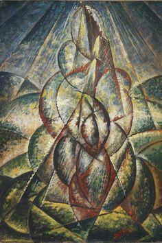 Gerardo Dottori, Forme ascensionali e torri, 1928