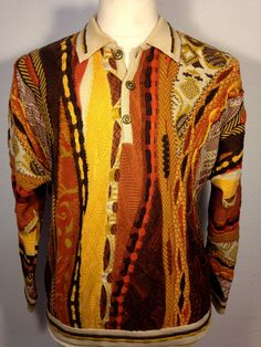 7b7f9c36142008 Color Me Earthy by Susan Anderson on Etsy Men's Sweaters, Vintage Sweaters,  Men's Vintage