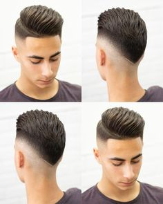 Pin For Trend Presented Latest Hairstyle Ideas For Stylish Boys - Hairstyles 2019 (Best Stylish Hair Cuts & Hairstyles For Men's) Cool Hairstyles For Men, Hairstyles Haircuts, Haircuts For Men, Barber Hairstyles, Barber Haircuts, Medium Haircuts, Hairstyle Ideas, Hair And Beard Styles, Short Hair Styles