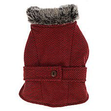 Top Paw® Herringbone Dog Coat