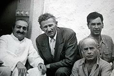 Weekly Reflections No. 29 - Meher Baba's First Visit to Avatar's Abode! / Meher Baba with Francis Brabazon (front far right) and Bill Le Page (behind)
