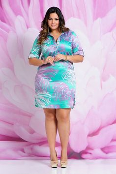 Vestido Program - Moda Feminina Plus Size