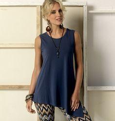 V9057   Misses' Top   Tops/Tunics   Vogue Patterns