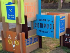 Photo: Sandy Wolfe Wood        Composting booth
