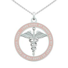 Nurse Prayer Necklace