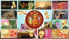 My little pony - MLP 4th Generation [2010] Twilight Sparkle Wallpaper by GT4 wallpapers/others from deviantart members Stained Glass By Wallpapers list: Twilight Sparkle - Fluttershy - Rainbow Dash...