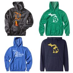 Some of our newest hoodies! Go check all of our hoodies out here...  www.livnfresh.com