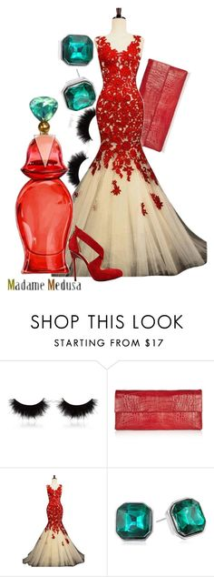 """""""Madame Medusa"""" by amarie104 ❤ liked on Polyvore featuring shu uemura, Nancy Gonzalez, Disney, Kenneth Cole and GUESS"""
