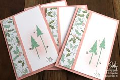 Christmas Card Crafts, Christmas Tree Cards, Stampin Up Christmas, Xmas Cards, Holiday Cards, Whimsical Christmas, Greeting Cards Handmade, Stampin Up Cards, Card Making