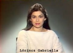 Lőrincz Gabriella Famous People, Graphic Sweatshirt, V Neck, Tv, Sweatshirts, Sweaters, Film, Women, Fashion