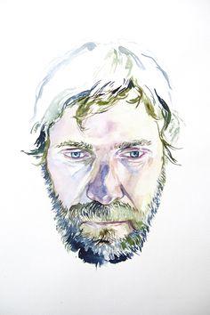 image of watercolor portrait