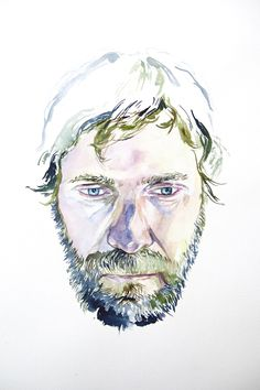 image of watercolor portrait