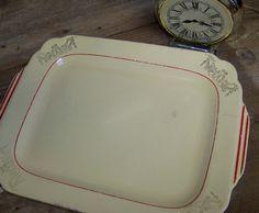 Homer Laughlin Platter Rectangular Platter by ShelbyTradingCompany