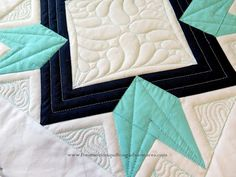 Amy's Free Motion Quilting Adventures: Return to the Ruler Work Sampler