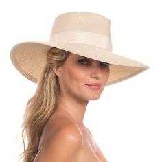 61e1981c793 Eric Javits Luxury Fashion Designer Women s Headwear Hat - Daphne - Cream   EricJavits  FedoraTrilby