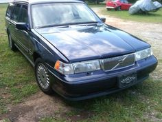 1997 Volvo 960 wagon. It was blue with a grey interior. Nice driving and comfortable car..