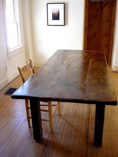 Story of a Table: Plans, Designs, and The Lorimer Workshop