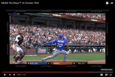 MLB® The Show™ 16 Toronto 1035 Josh Donaldson HR [15] Replay