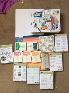 My Stampin' Up Starter Kit has arrived!!