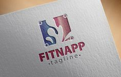 Fitness App Logo by fastudiomedia on Creative Market