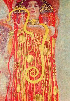 """Gustav Klimt (1862–1918) """"Medicine""""."""