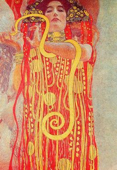 "Gustav Klimt (1862–1918) ""Medicine"" 
