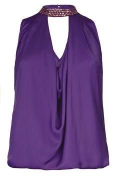 a7f43a648b5 City Chic - BEADED BELLA TOP - Women s Plus Size Fashion  citychic   citychiconline  newarrivals  plussize