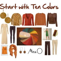 Start with Ten: color palette