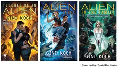 Alien series by Gini Koch...I LOVE LOVE LOVE IT!!! Current 9 books in the series.
