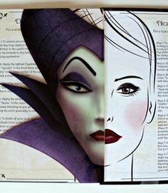 ELF Maleficent Make-Up Set Disney Villian Halloween Book Sinister Smoky Eyes