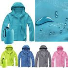 Unisex Cycling Running Hiking Camp Waterproof Windproof Jacket Outdoor Rain Coat