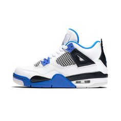 Air Jordan Retro 4 'motorsport' Big Kids(GS) Shoes