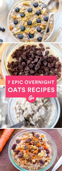 No time for a hot bowl of oats? Chill—they're just as good cold. #overnightoats #breakfast # https://greatist.com/eat/overnight-oats-recipes-that-make-breakfast-a-breeze